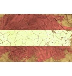 Vintage austrian flag vector