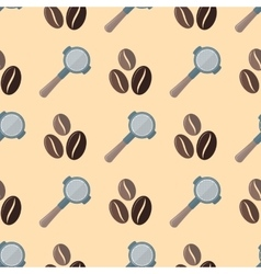 Coffee barista seamless pattern vector
