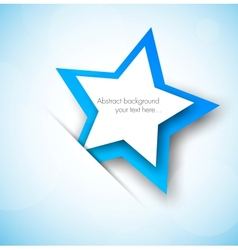 Background wtih blue star vector