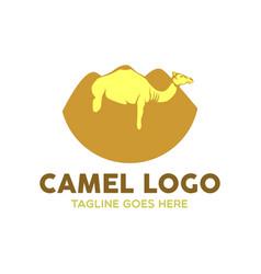 camel logo-11 vector image