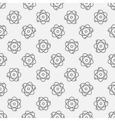 Atoms seamless pattern vector