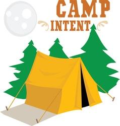 Camp intent vector