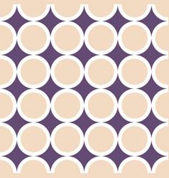 Decorative geometric pattern seamless delicate vector