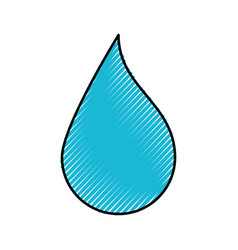 drop paint picture vector image