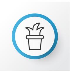 Flowerpot icon symbol premium quality isolated vector