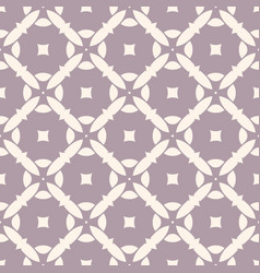 geometric pattern with mosaic tiles pale purple vector image vector image