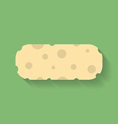 Icon of sponge or wisp vector