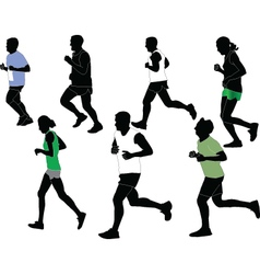 marathon collection - vector image