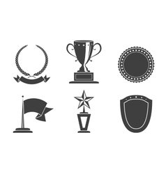 Recognition badges vector