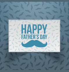 happy fathers day festive realistic banner vector image