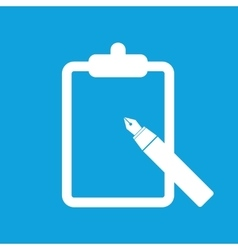 Note icon simple vector