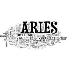 Aries as a boyfriend your sign may play a factor vector