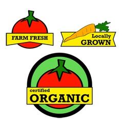 Fresh produce vector