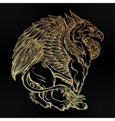 Griffin beast vector
