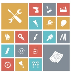 icons tile industrial vector image