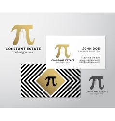Constant estate abstract premium business vector