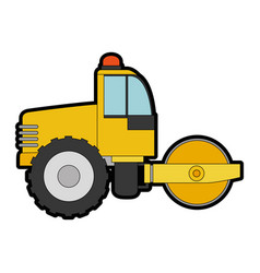 Planer construction isolated icon vector