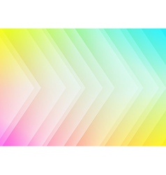 Abstract colored arrows background vector