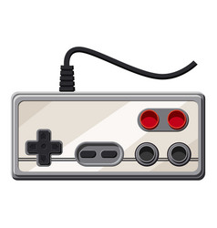 Monitor socket icon cartoon style vector