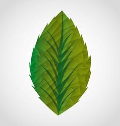 Nature emblem vector