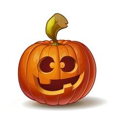 Pumpkins Funny 2 vector image