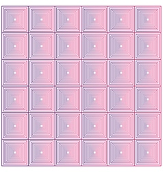 Square abstract graphic pattern background vector image