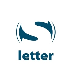 Logo letter s vector