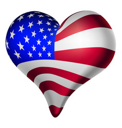 American hearts and minds vector