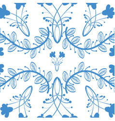 Background natural flowers vector