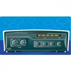 Car stereo vector
