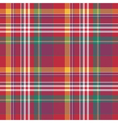 Check plaid tartan seamless fabric texture vector