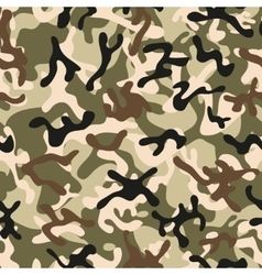 Forest Leaf Camouflage seamless patterns vector image