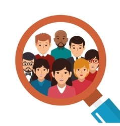 people group avatar character vector image