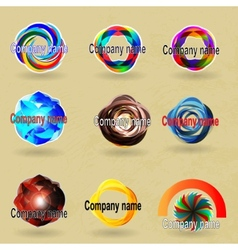 compani name vector image