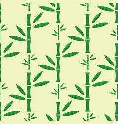 Bamboo stem seamless pattern vector