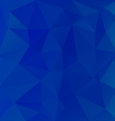 sky blue abstract polygon triangular pattern vector image