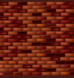 Bright brick wall dark background vector