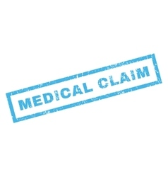 Medical claim rubber stamp vector