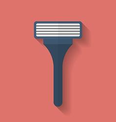 Shaving Razor icon Flat style vector image vector image