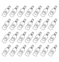 Bottle of beer vector