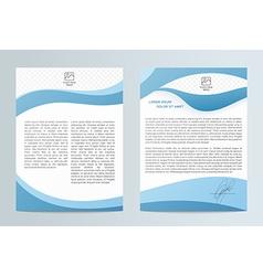 Business brochure brochure flyer design easy to vector
