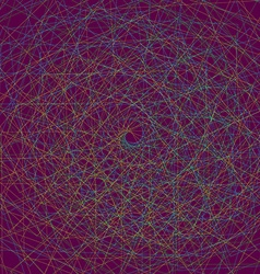 Multi colored fractal vector image