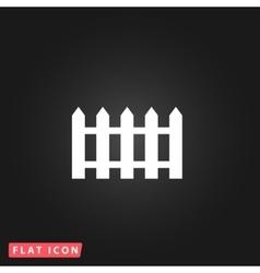 Fence icon - vector image vector image