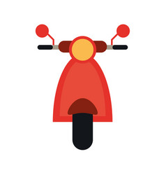 Scooter bike icon image vector