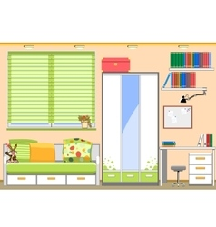 Childrens room vector