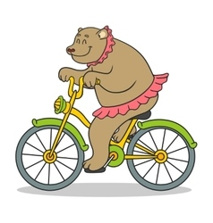 Bear circus vector
