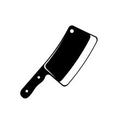 Butcher axe isolated vector