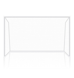football soccer gates goalie vector image vector image