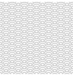 Gray and white japanese seamless pattern vector