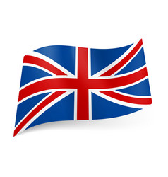 national flag of great britain called union jack vector image